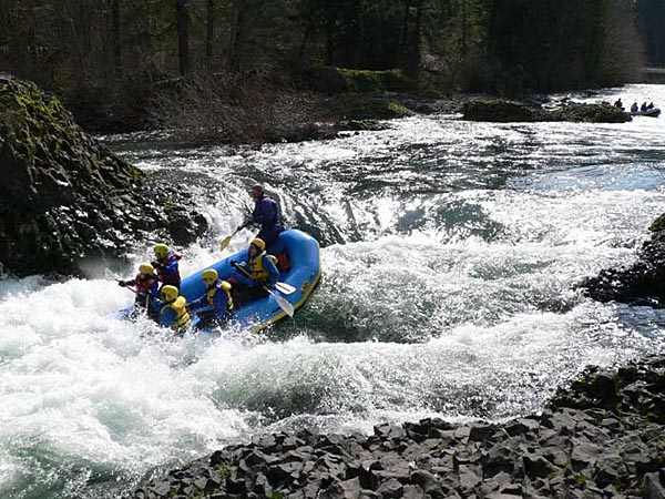 Baby Bear Rapids on the Molalla River