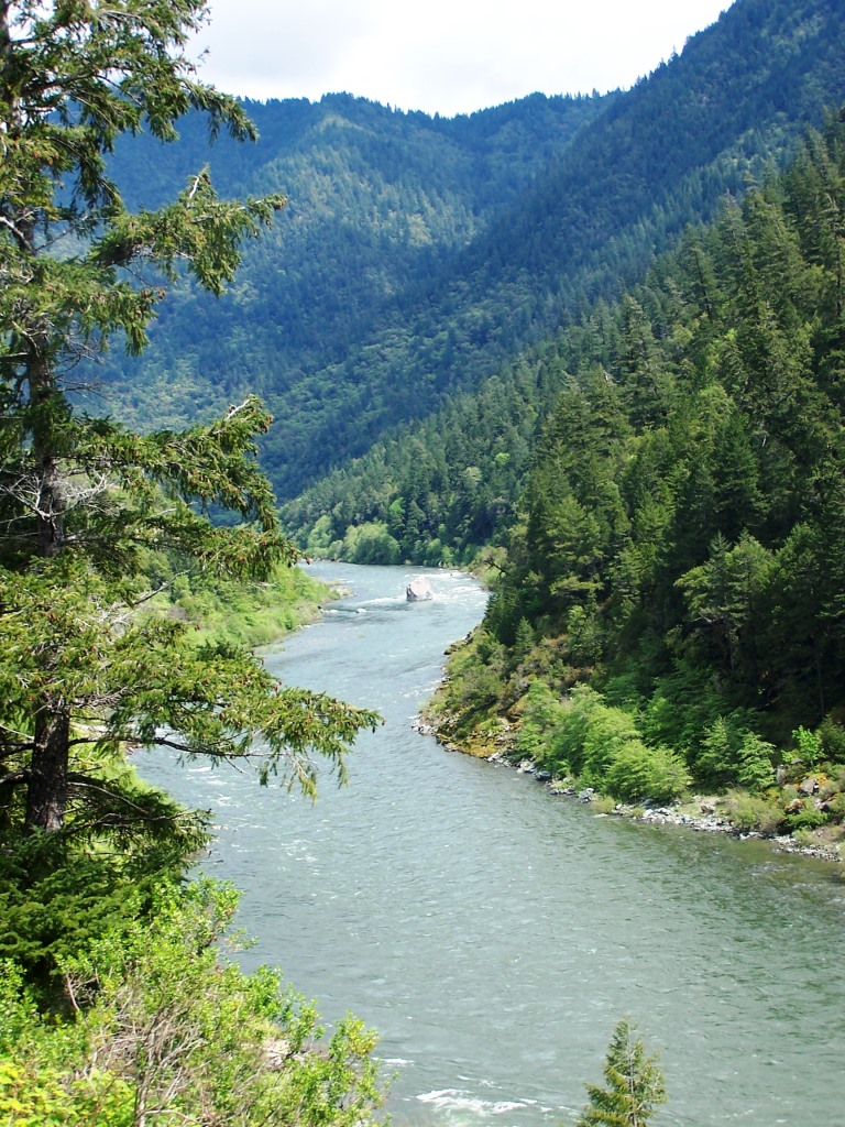 Klamath River canyon