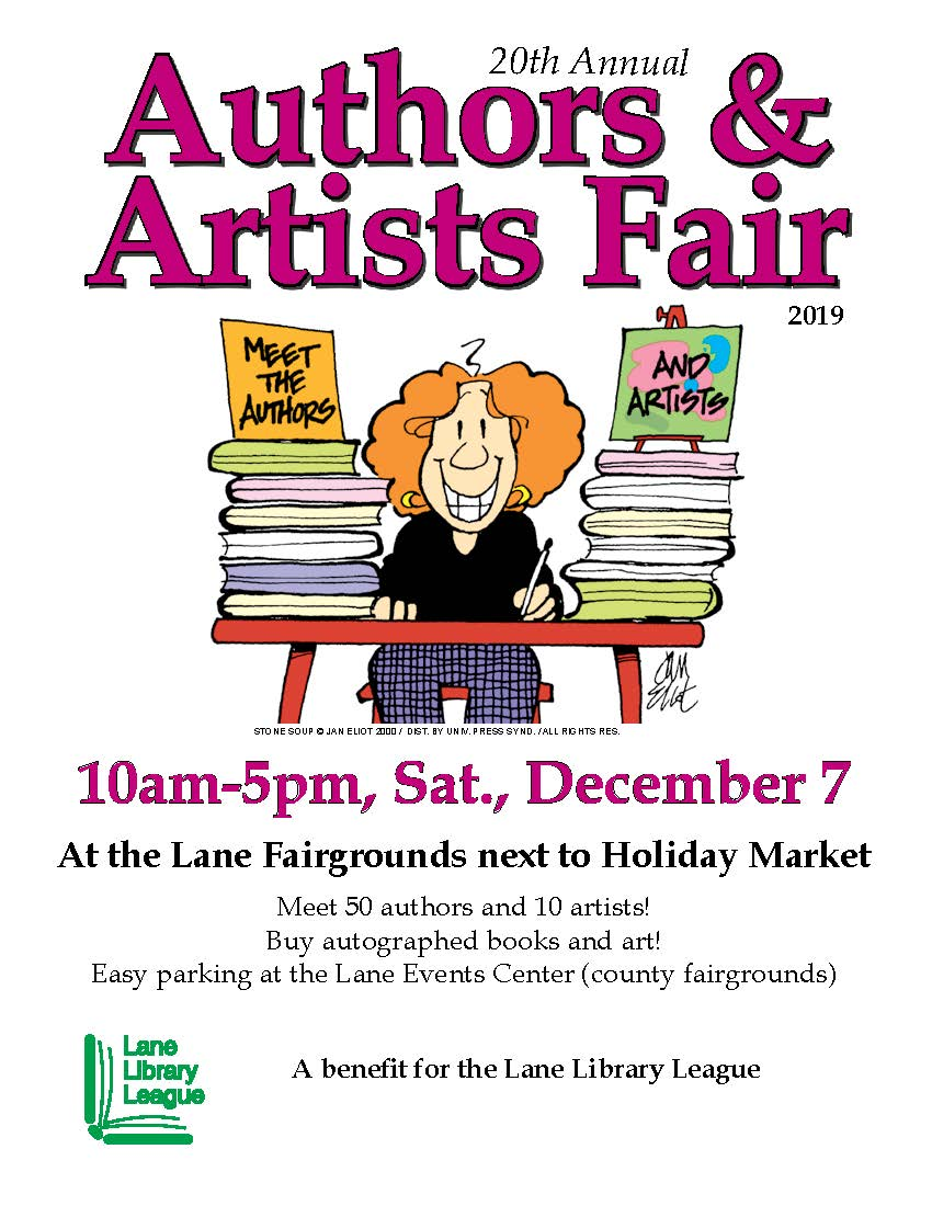 Authors & Artists Fair poster