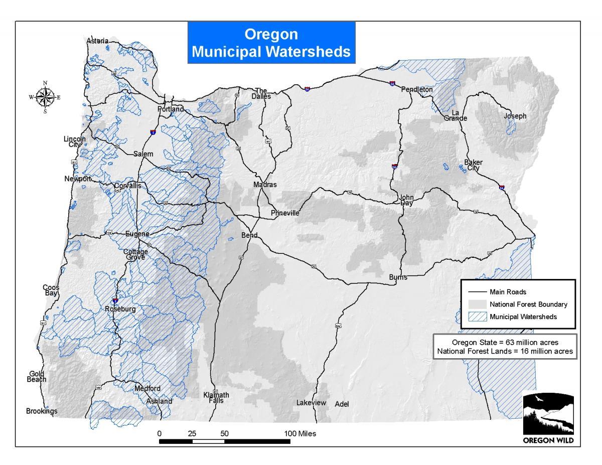 Oregon Wild Map Gallery | Oregon Wild