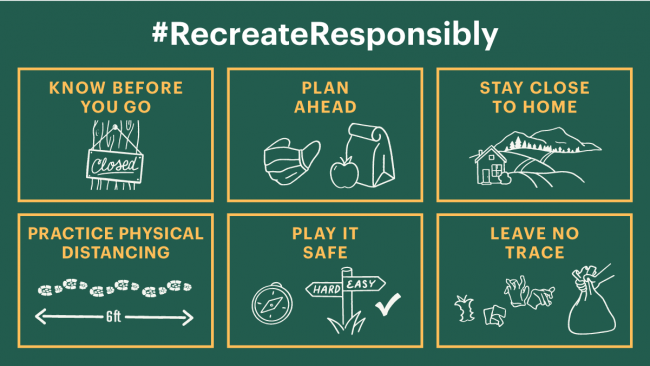 Recreate Responsibly graphic