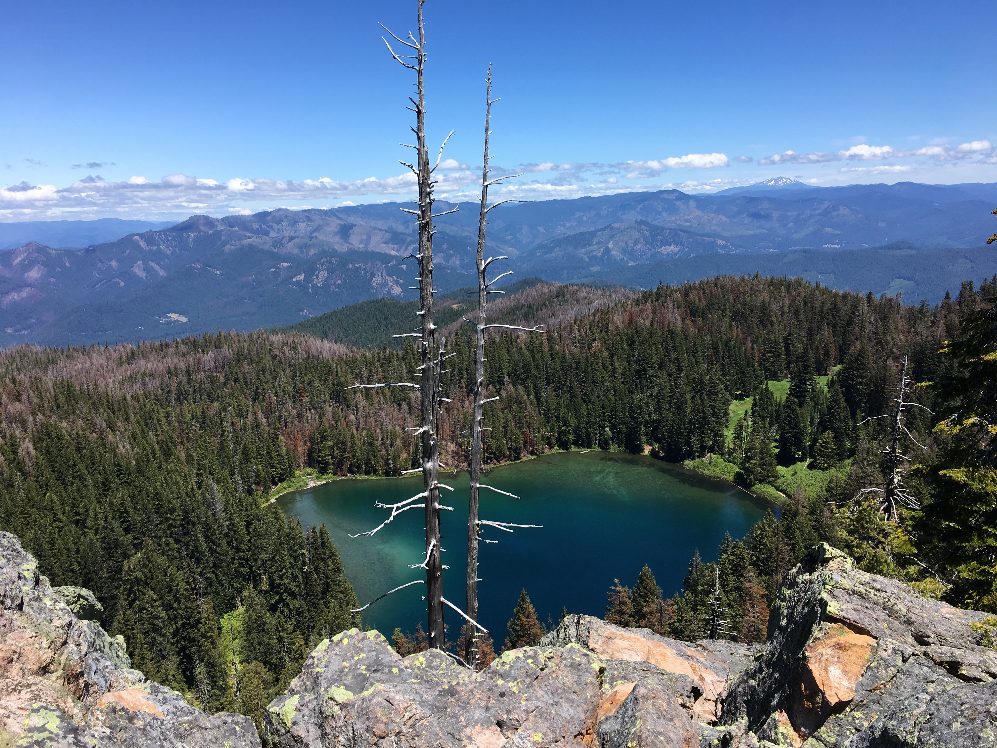 Twin Lakes in the North Umpqua watershed