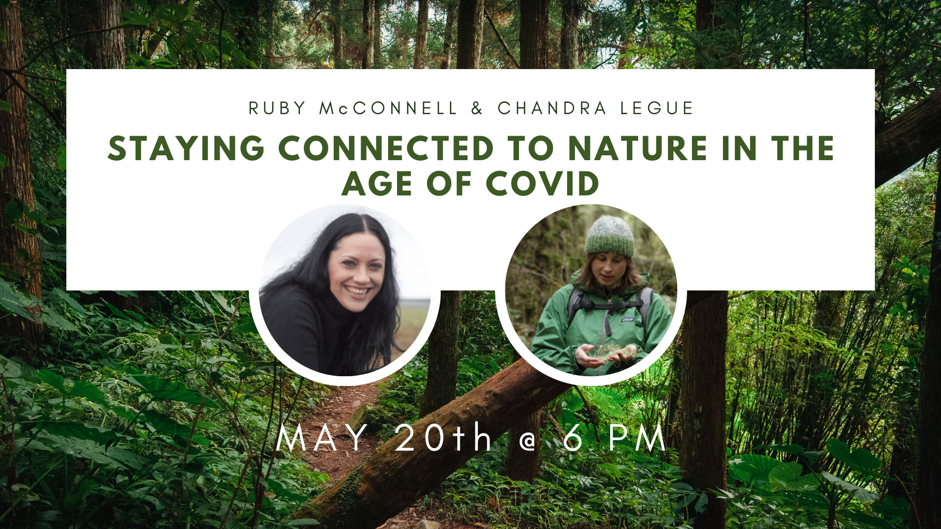 Webcast: Staying Connected to Nature