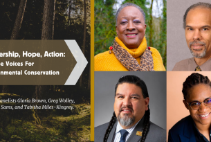 Webcast: Leadership, Hope, Action: Diverse Voices For Environmental Conservation