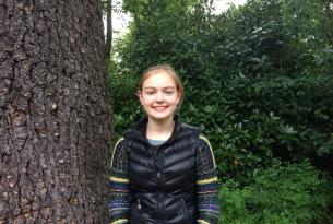 Eleanor Solomon -- 9th grade student at Riverdale High School